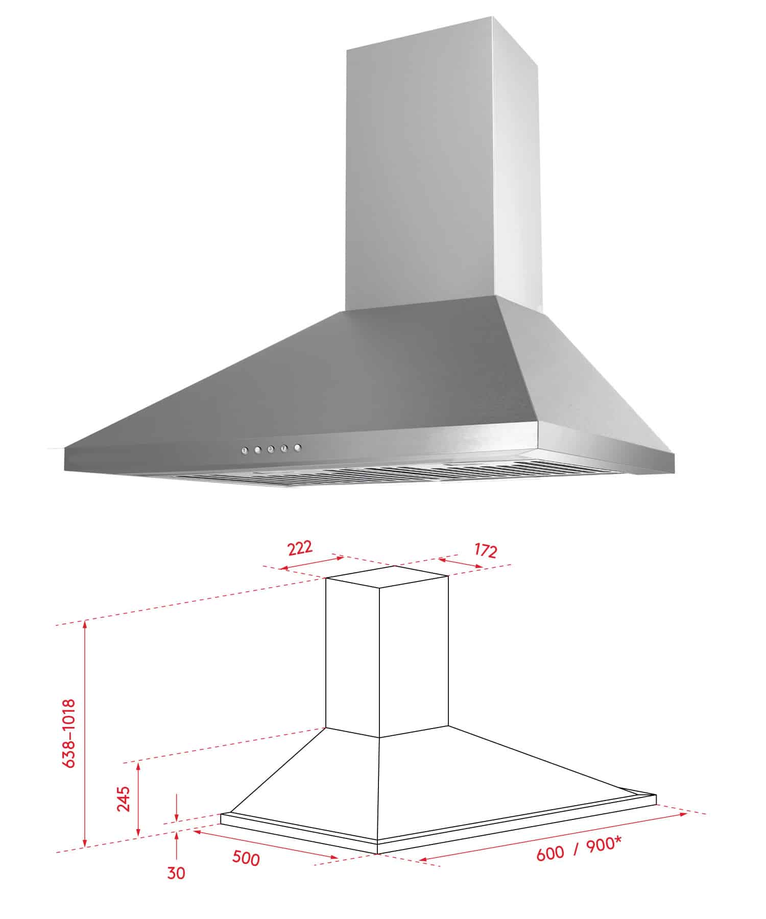 kitchen canopy rangehoods
