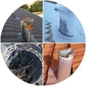 Roof vent collage