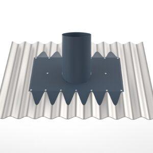 Corrugated Tin Roof Vent Kit