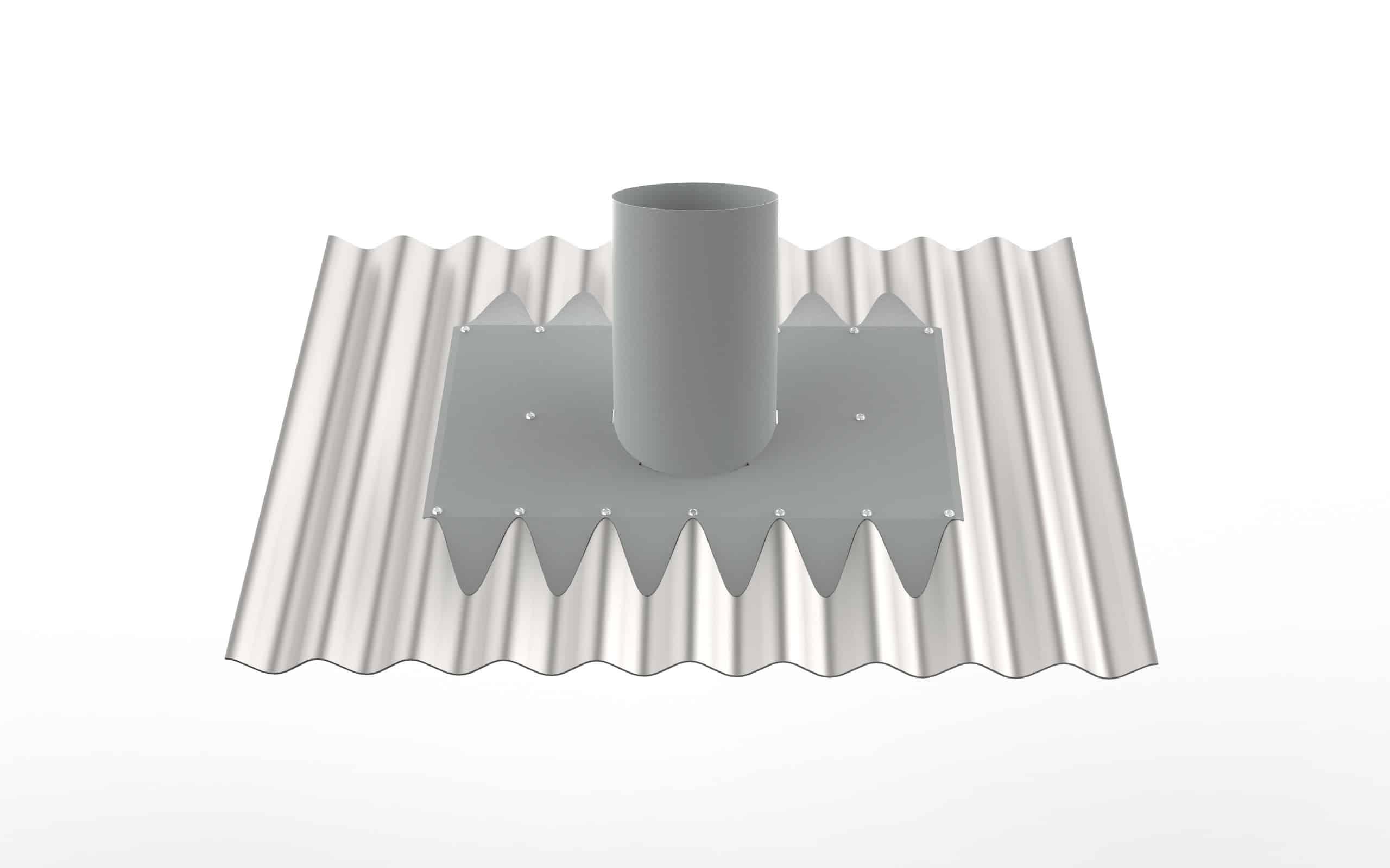 Corrugated Roof Vent Kit